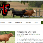 Haley Farms Blog