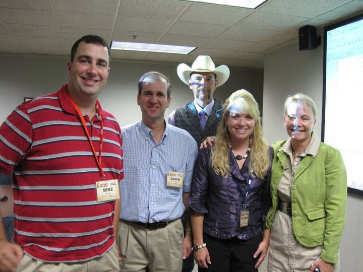 Some of the great friends I made through the AgChat Foundation